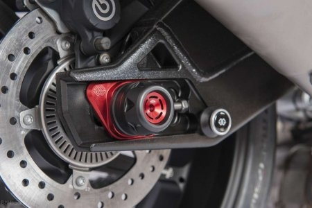 GTA Rear Axle Sliders by Gilles Tooling BMW / S1000R / 2015