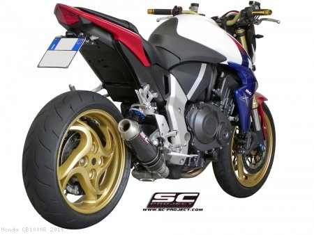GP EVO De-Cat Exhaust by SC-Project Honda / CB1000R / 2014