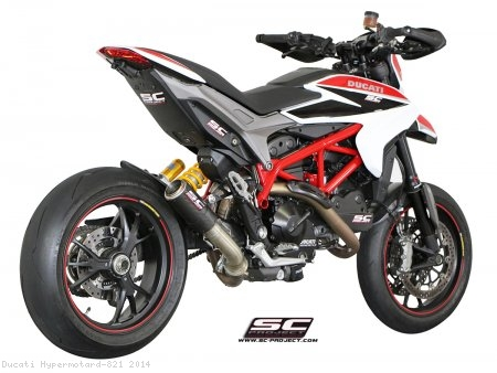 CR-T Exhaust by SC-Project Ducati / Hypermotard 821 / 2014