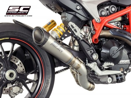 S1 Exhaust by SC-Project Ducati / Hypermotard 821 SP / 2014