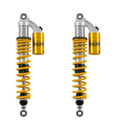 HO-819 Adjustable Piggyback STX 36 Twin Rear Shocks by Ohlins