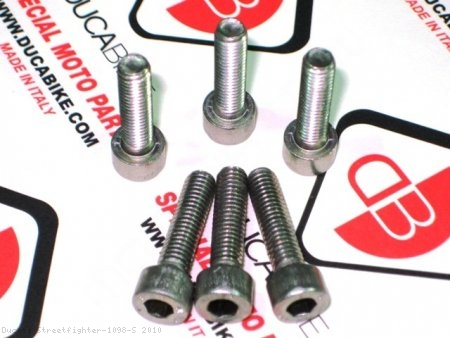 Dry Clutch 6 Piece Spring Bolt Kit by Ducabike Ducati / Streetfighter 1098 S / 2010