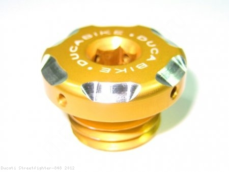 Engine Oil Filler Cap by Ducabike Ducati / Streetfighter 848 / 2012