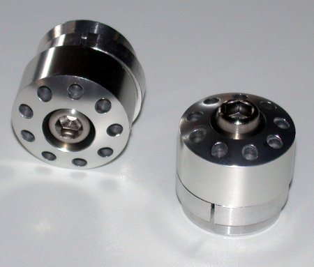 Billet Frame Plugs by MotoCorse