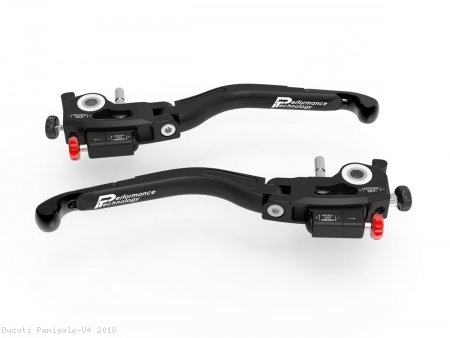 """Ultimate Edition"" Adjustable Levers by Ducabike Ducati / Panigale V4 / 2018"