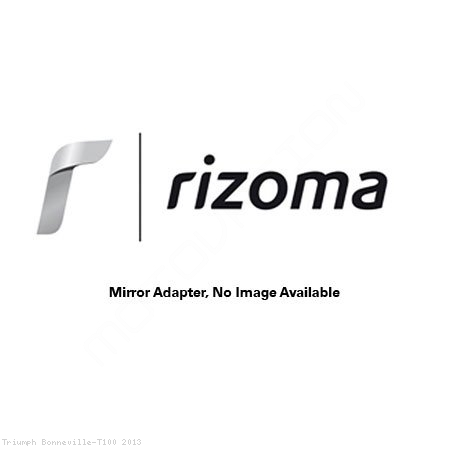 Rizoma Mirror Adapter BS814B Triumph / Bonneville T100 / 2013