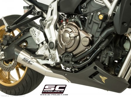 S1 Exhaust by SC-Project Yamaha / FZ-07 / 2017