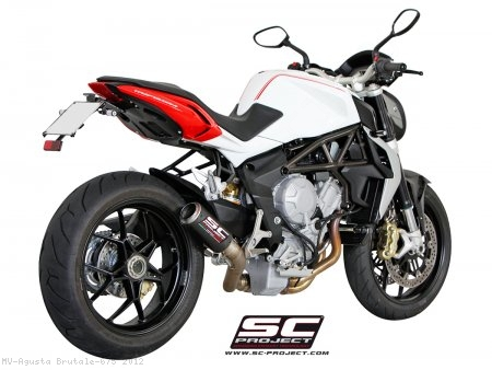 CR-T Exhaust by SC-Project MV Agusta / Brutale 675 / 2012