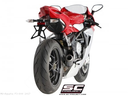 CR-T Exhaust by SC-Project MV Agusta / F3 800 / 2017