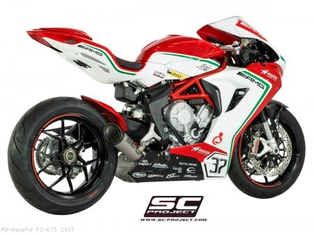 S1 Exhaust by SC-Project MV Agusta / F3 675 / 2017