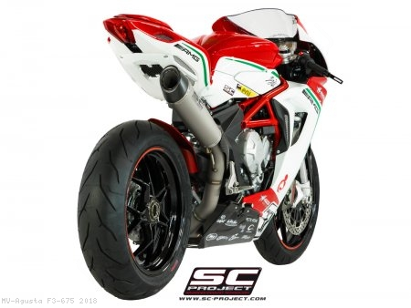 Conic High Mount Exhaust by SC-Project MV Agusta / F3 675 / 2018