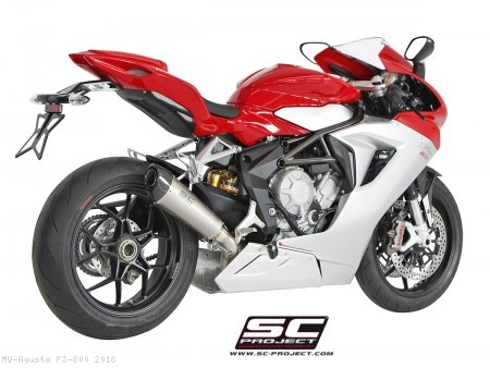Conic Exhaust by SC-Project MV Agusta / F3 800 / 2018