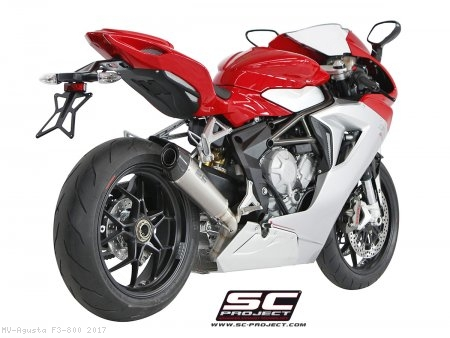 Conic Exhaust by SC-Project MV Agusta / F3 800 / 2017