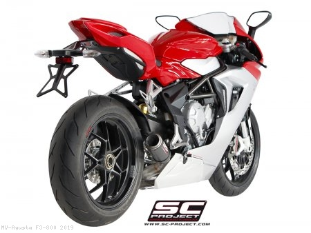 CR-T Exhaust by SC-Project MV Agusta / F3 800 / 2019