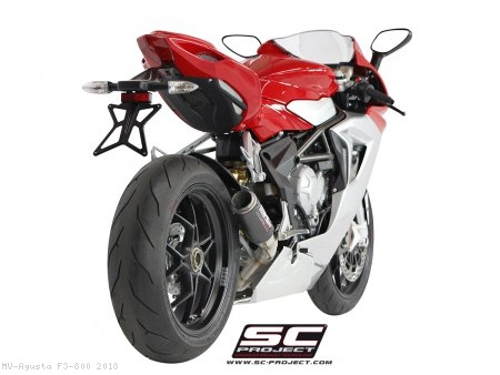 CR-T Exhaust by SC-Project MV Agusta / F3 800 / 2018