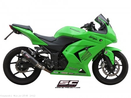 Gp M2 Exhaust By Sc Project Kawasaki Ninja 250r 2012