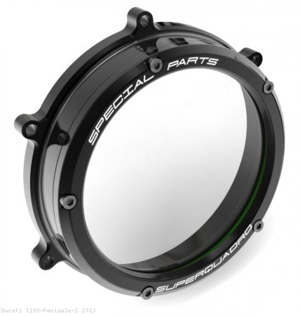 Clear Clutch Cover Oil Bath by Ducabike Ducati / 1199 Panigale S / 2013