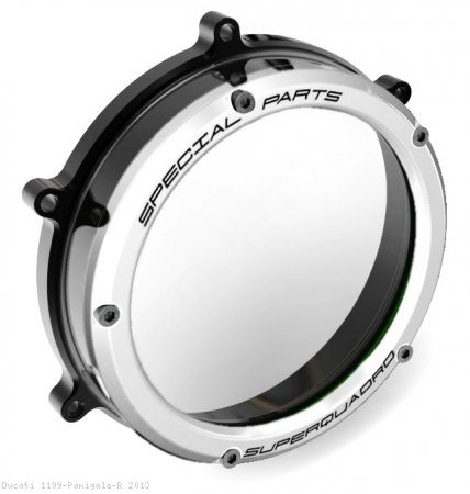 Clear Clutch Cover Oil Bath by Ducabike Ducati / 1199 Panigale R / 2013