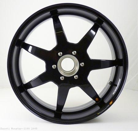 7 Spoke Carbon Fiber Wheel Set By Bst Ducati Monster 1100 2009