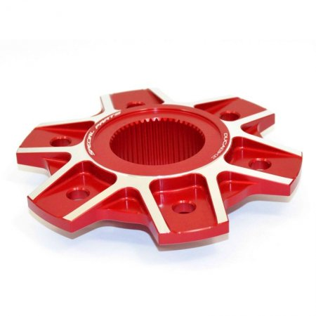 6 Hole Rear Sprocket Carrier Flange Cover by Ducabike