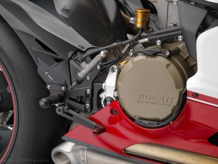 """RRC"" Rearsets by Rizoma Ducati / 1199 Panigale / 2013"