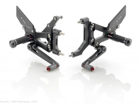 """RRC"" Rearsets by Rizoma Ducati / 899 Panigale / 2014"