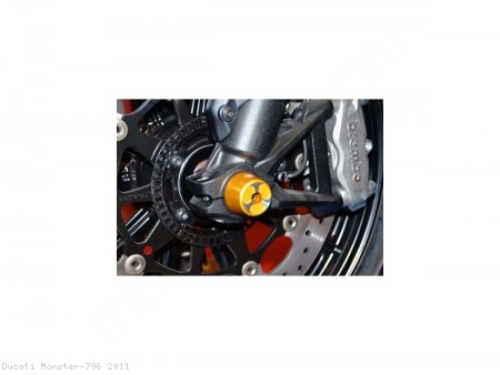 Front Fork Axle Sliders by Ducabike Ducati / Monster 796 / 2011