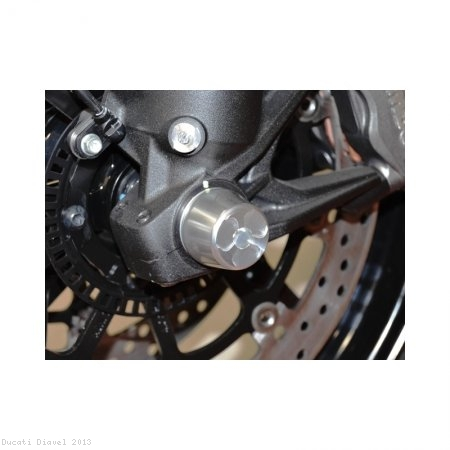 Front Fork Axle Sliders by Ducabike Ducati / Diavel / 2013