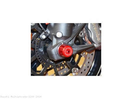 Front Fork Axle Sliders by Ducabike Ducati / Multistrada 1200 / 2014