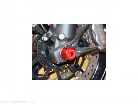Front Fork Axle Sliders by Ducabike Ducati / Supersport / 2018