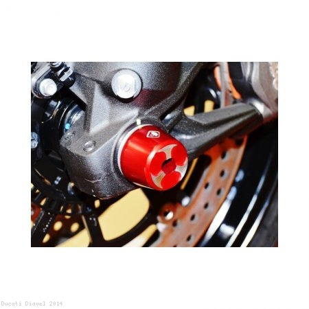 Front Fork Axle Sliders by Ducabike Ducati / Diavel / 2014