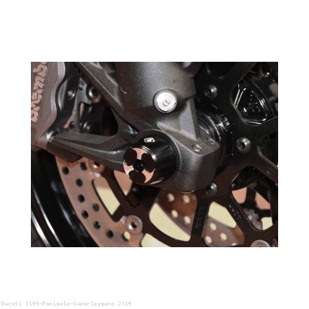 Front Fork Axle Sliders by Ducabike Ducati / 1199 Panigale Superleggera / 2014