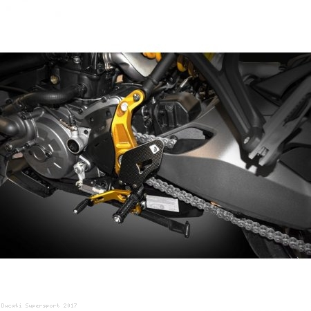 Adjustable Rearsets by Ducabike Ducati / Supersport / 2017
