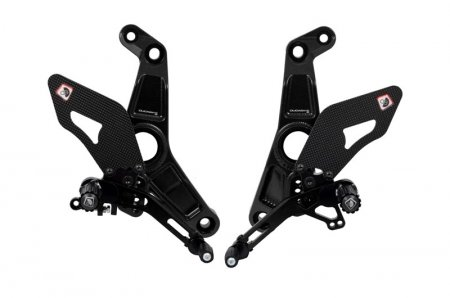 Adjustable Rearsets by Ducabike
