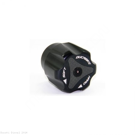 Rear Suspension Adjuster Knob by Ducabike Ducati / Diavel / 2014