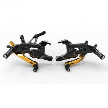 Adjustable SBK Rearsets by Ducabike