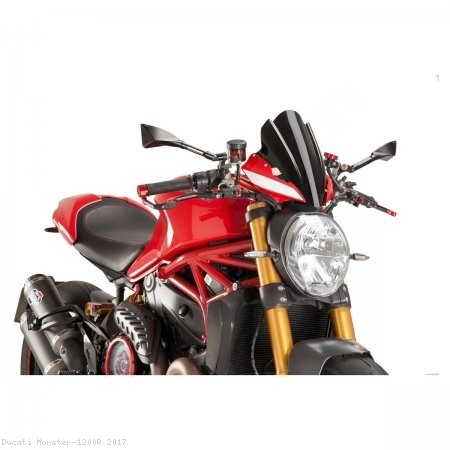 PUIG SPORT Naked New Generation Windscreen Ducati / Monster 1200R / 2017