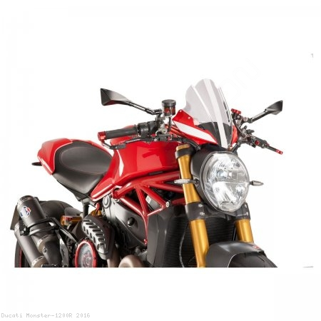 PUIG SPORT Naked New Generation Windscreen Ducati / Monster 1200R / 2016