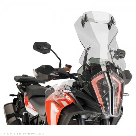 Touring Windscreen with Visor by Puig KTM / 1290 Super Adventure / 2017