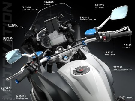 Rizoma Clutch Fluid Tank Cover BMW / R nineT / 2016