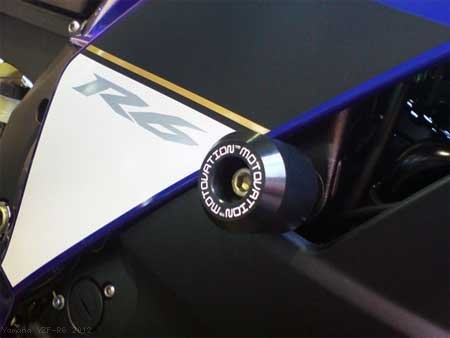 Frame Sliders by Motovation Accessories Yamaha / YZF-R6 / 2012