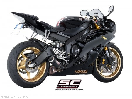 CR-T Exhaust by SC-Project Yamaha / YZF-R6S / 2006