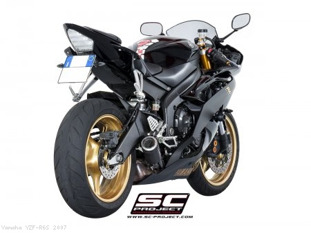 CR-T Exhaust by SC-Project Yamaha / YZF-R6S / 2007