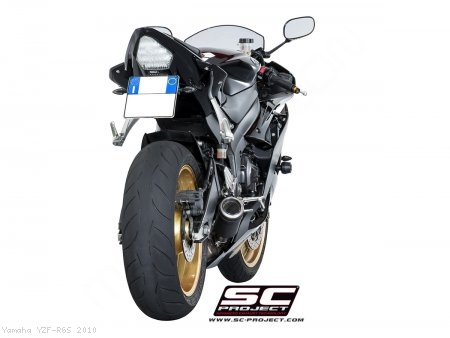 CR-T Exhaust by SC-Project Yamaha / YZF-R6S / 2010