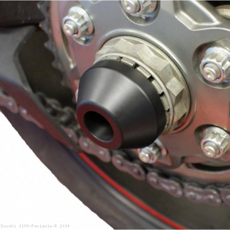 Rear Axle Sliders by Evotech Performance Ducati / 1199 Panigale R / 2014