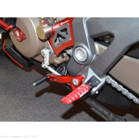Shift Lever Arm with Folding Toe Peg by Ducabike Ducati / Monster 1200 / 2017