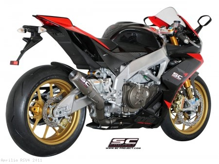 CR-T Exhaust by SC-Project Aprilia / RSV4 / 2011