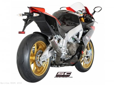 CR-T Exhaust by SC-Project Aprilia / RSV4 / 2013