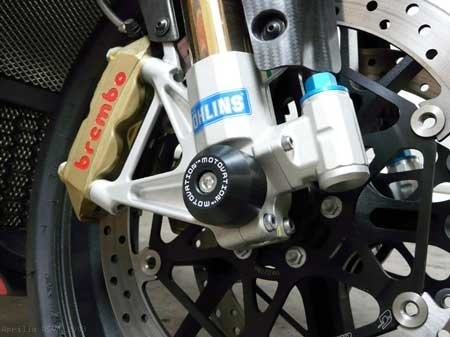 Fork Sliders by Motovation Accessories Aprilia / RSV4 / 2009