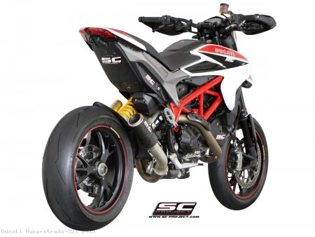 CR-T Exhaust by SC-Project Ducati / Hyperstrada 821 / 2013